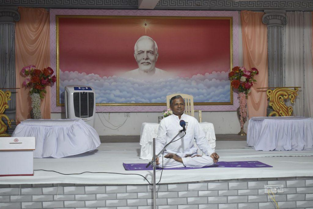 International Yoga Day was celebrated at Vishwa Shanti Sarovar, Cuttack